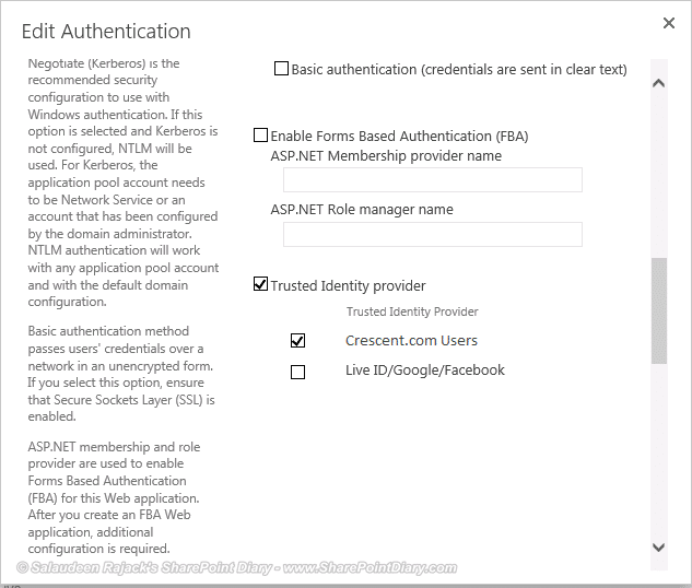 36 select trusted auth provider