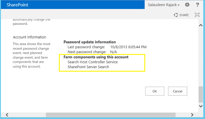 remove managed account sharepoint 2013 powershell