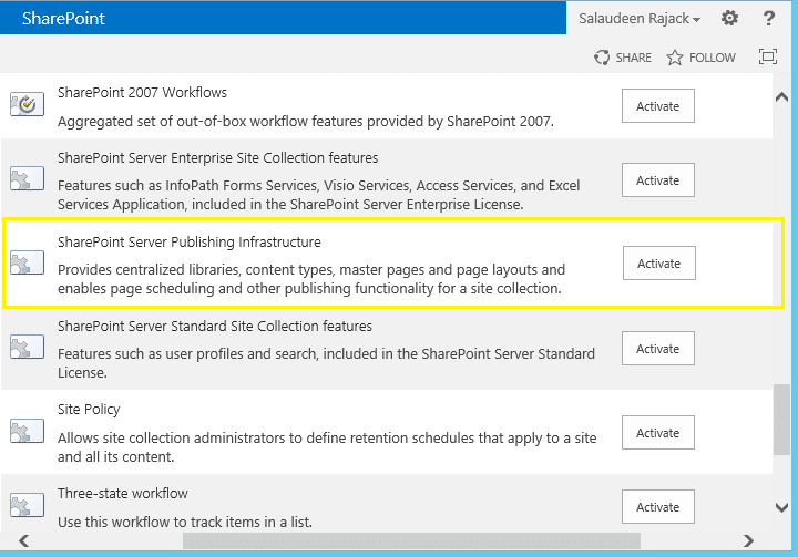 sharepoint 2013 design manager not visible