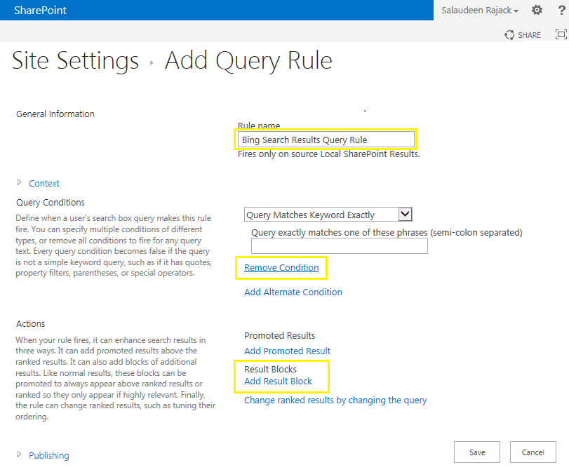 sharepoint 2013 create federated search