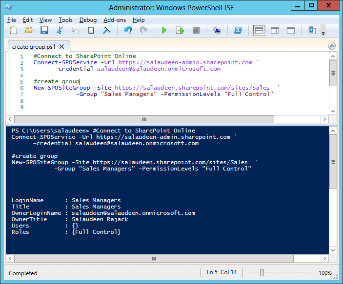 how to run powershell on sharepoint online