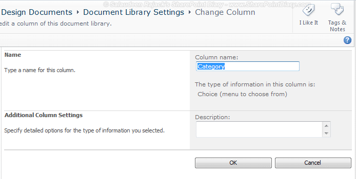 sharepoint column no delete button - sharepoint list sealed and non-deletable columns