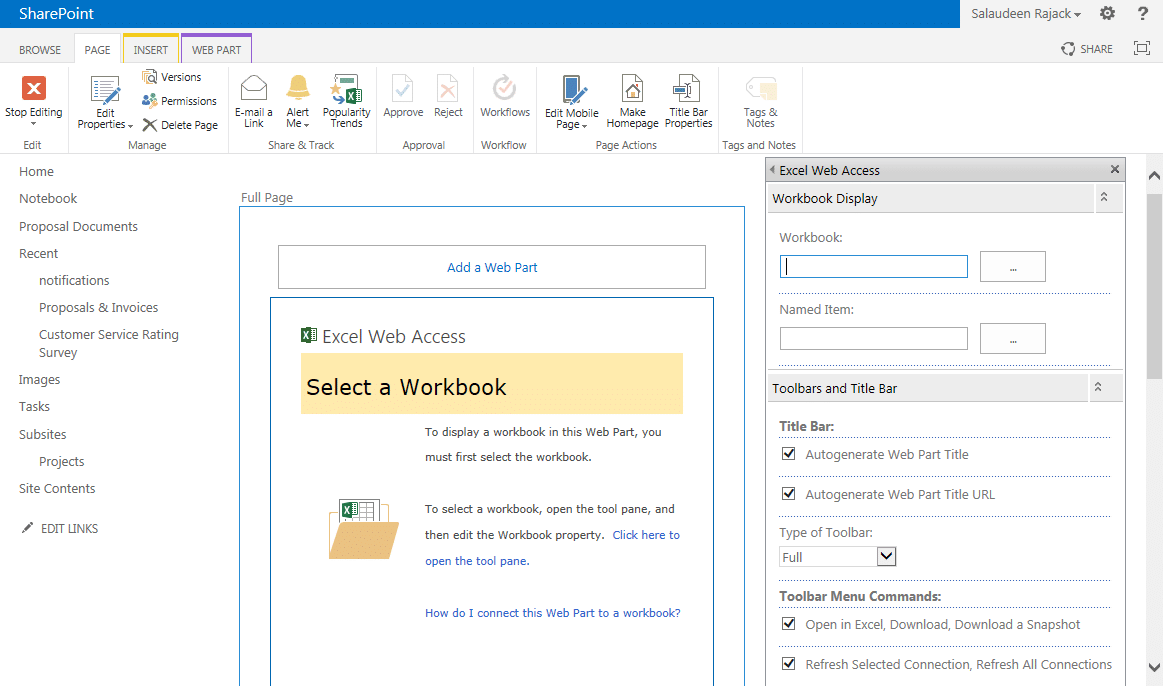 how to create web part page sharepoint 2013