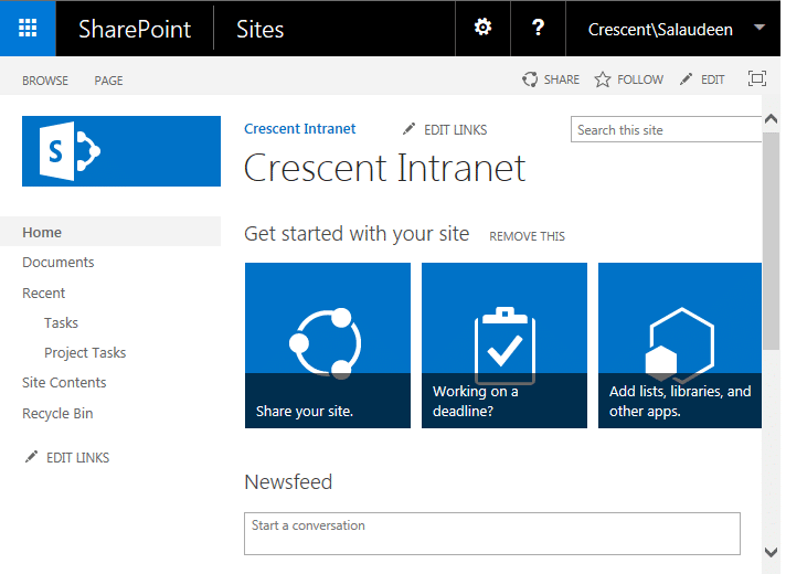 change user display name in sharepoint 2013