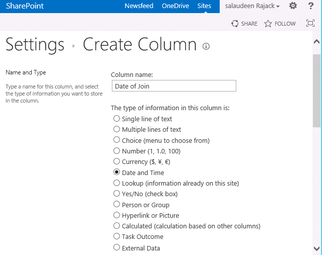 add date time column to sharepoint list using powershell