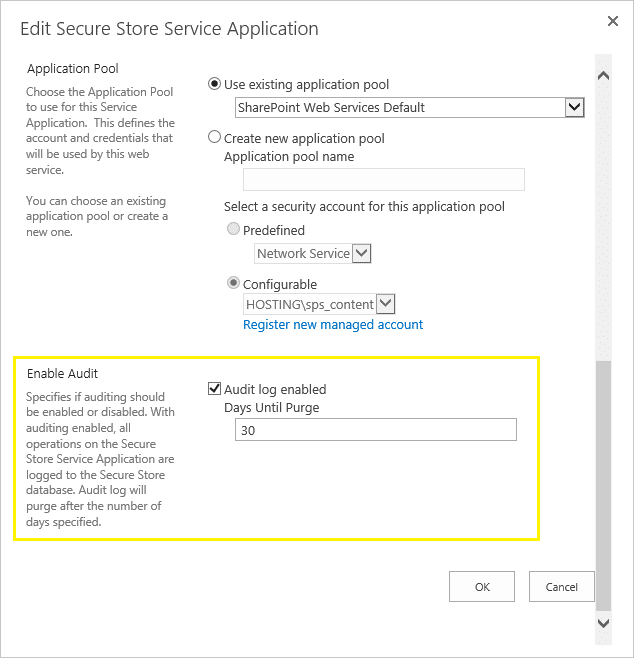 configure auditing in sharepoint 2013