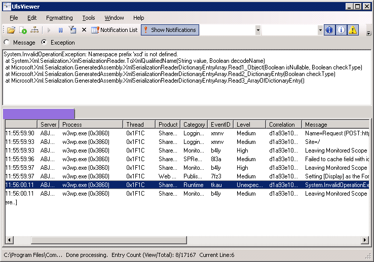 how to use uls viewer sharepoint 2013