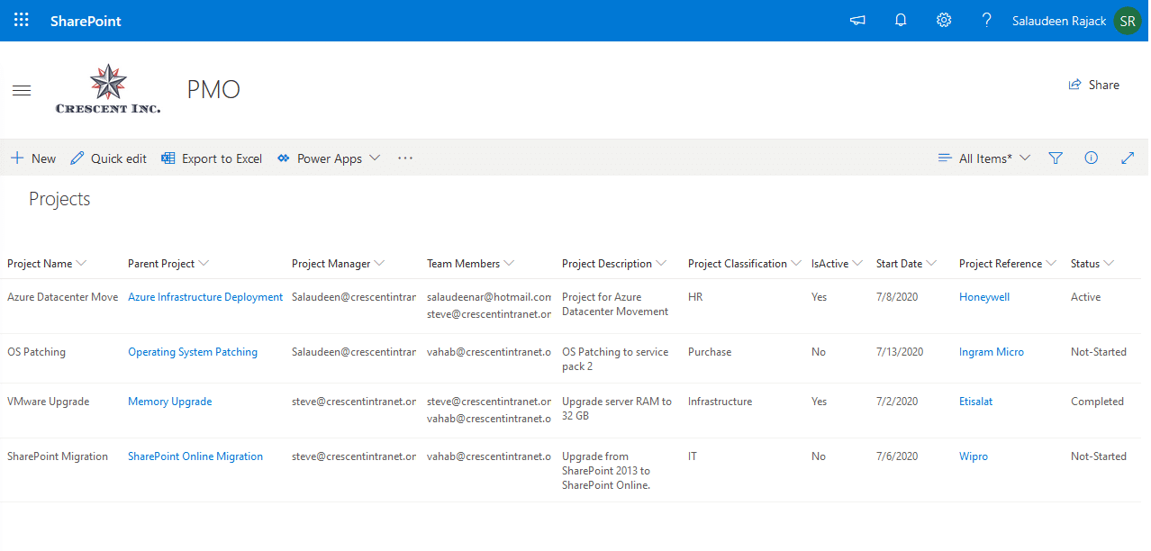 add sharepoint online list items from csv