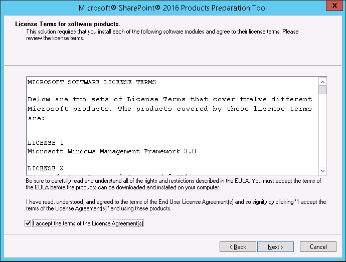 sharepoint 2016 installation and configuration