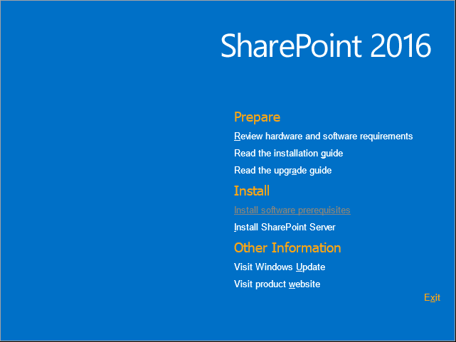 sharepoint 2016 installation guide