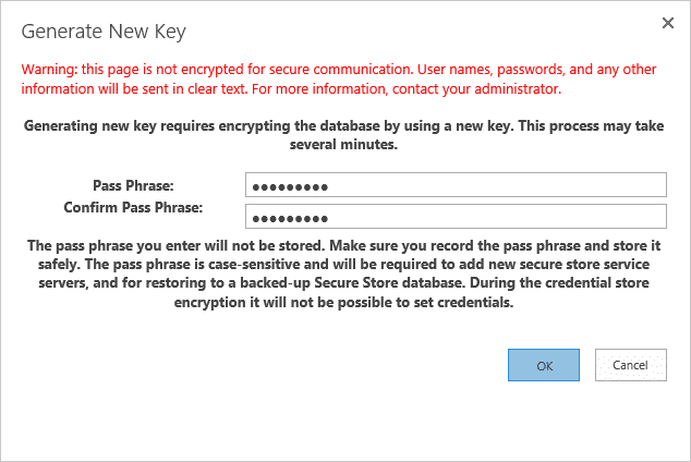 sharepoint 2013 create secure store service application powershell
