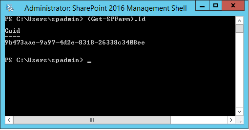 How to Get SharePoint Farm ID using PowerShell