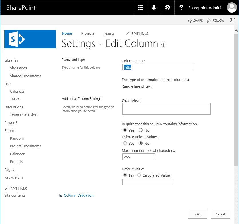 powershell to rename column in sharepoint online