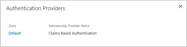 sharepoint 2013 check claims based authentication