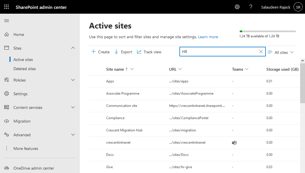 sharepoint online powershell check if site exists