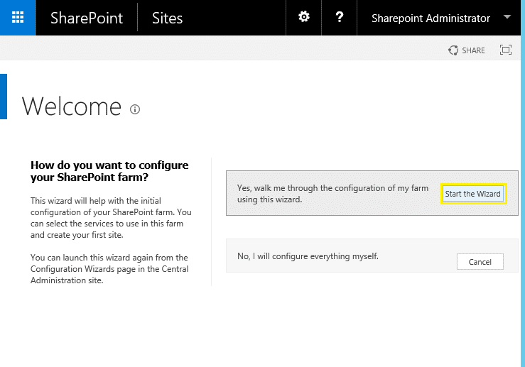 1create state service application sharepoint 2016