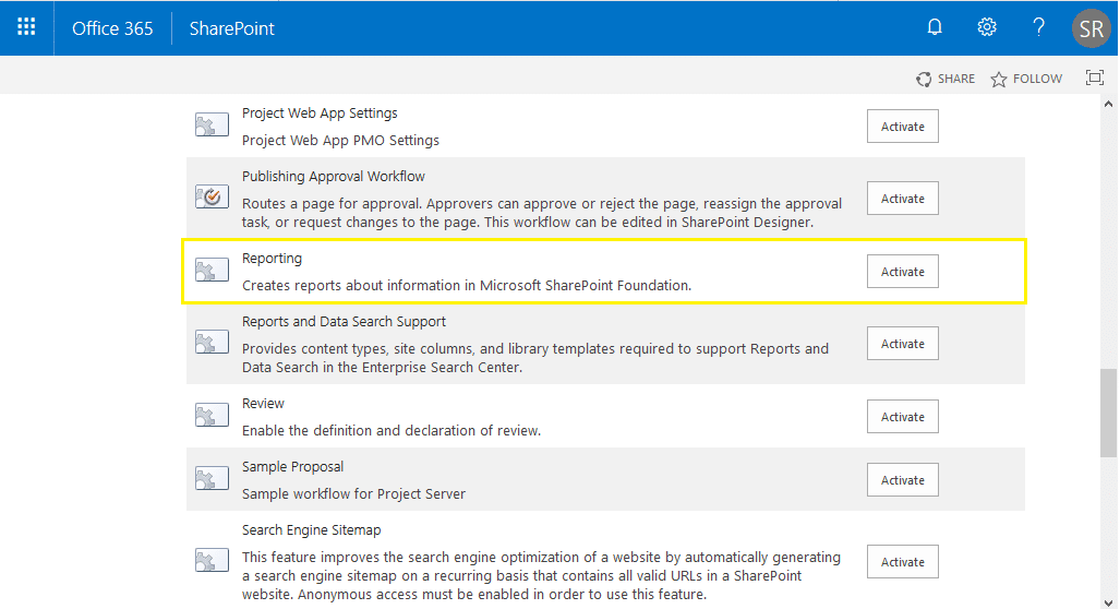 audit log reports missing sharepoint online