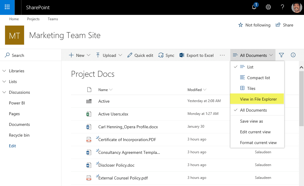 sharepoint download all documents in a library