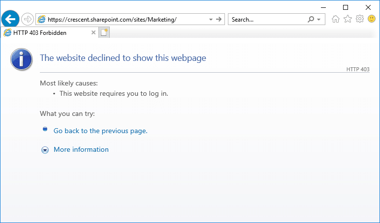 how to lock sharepoint online site collection