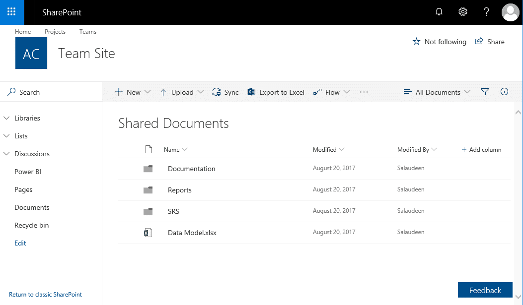 disable flow sharepoint online