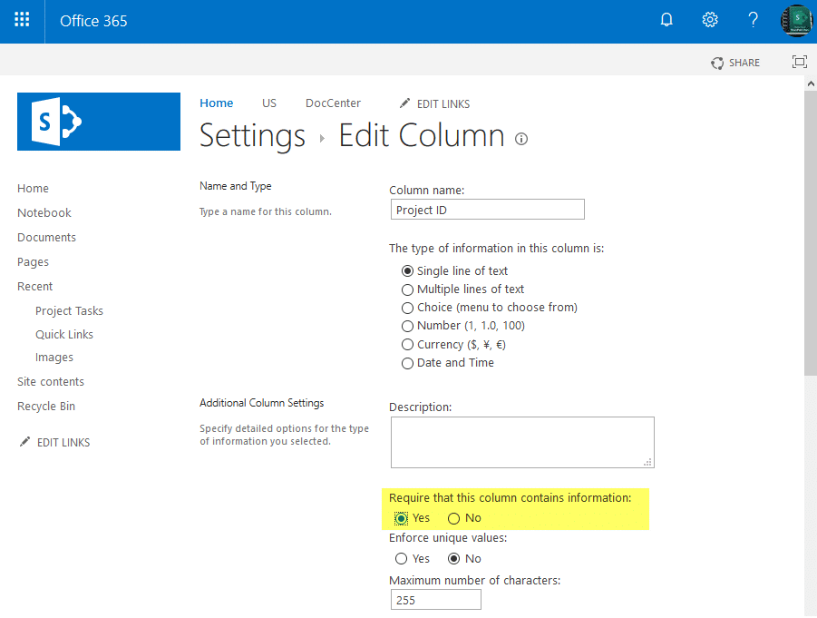 sharepoint powershell set field required