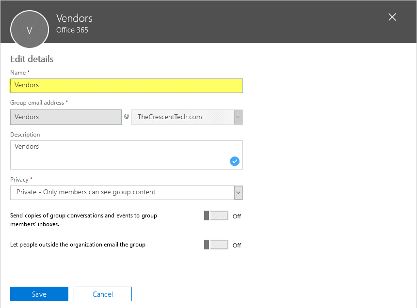 change office 365 group name using powershell
