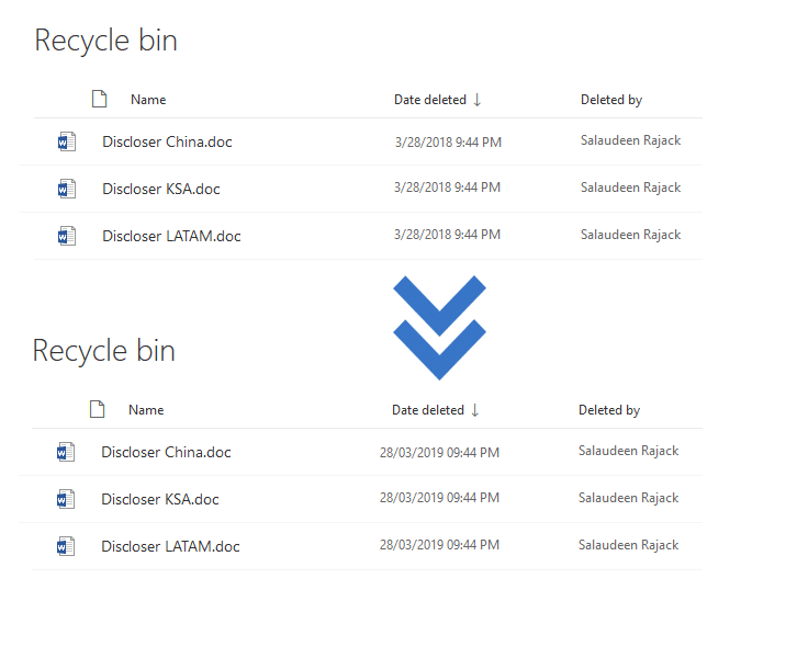 change date format in sharepoint online