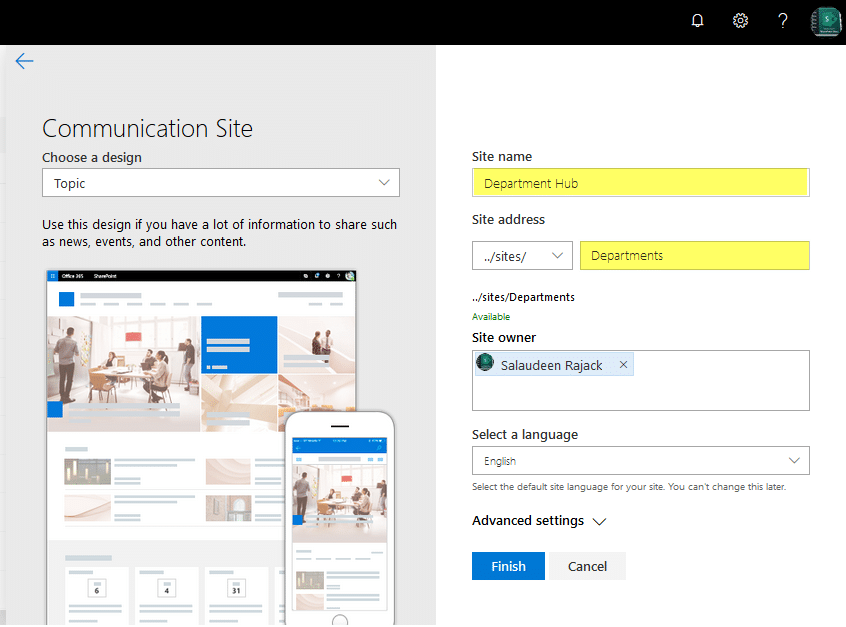 create hub site sharepoint online powershell