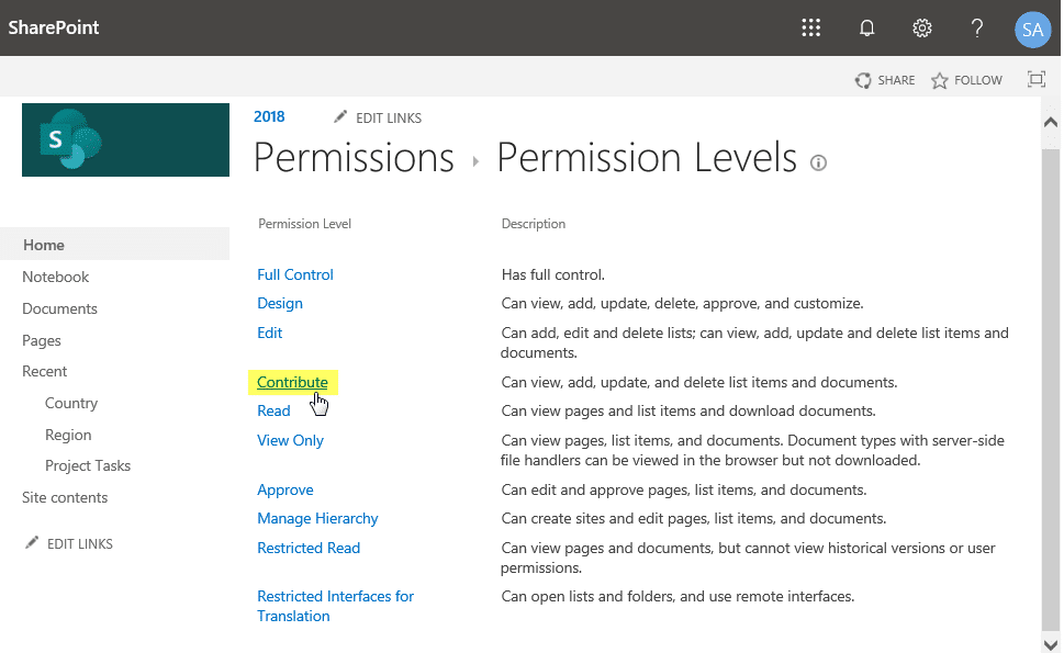 sharepoint add to list but not delete