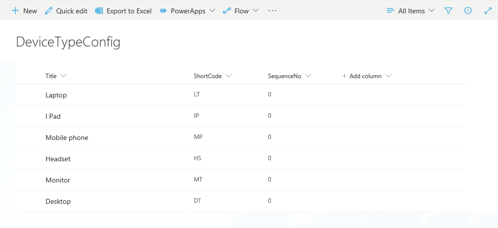 generateauto number in sharepoint online