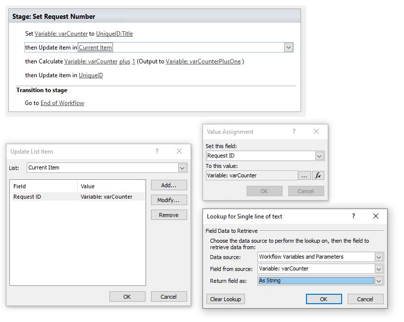 sharepoint online create unique id column