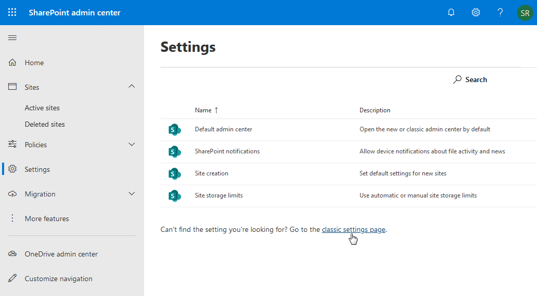 sharepoint online disable subsite creation