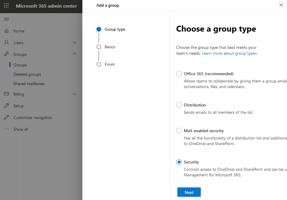 how to disable group creation in office 365