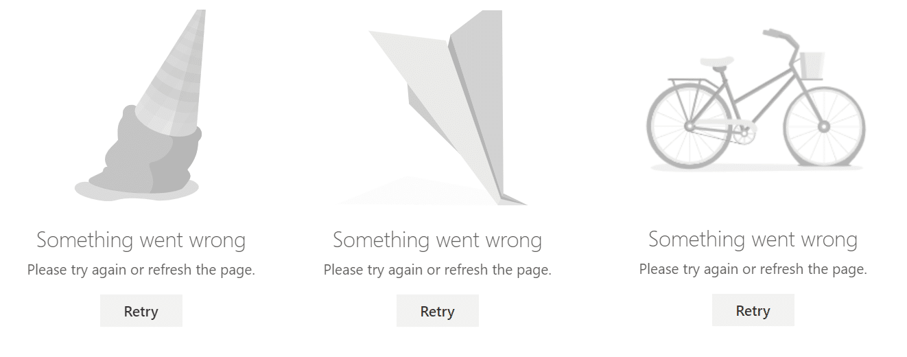 sharepoint online Something Went Wrong