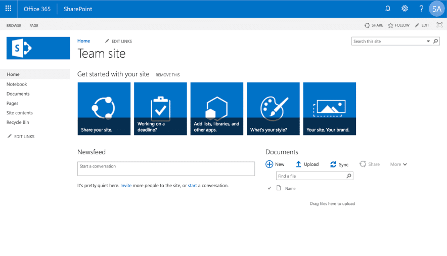 sharepoint online change root site to modern