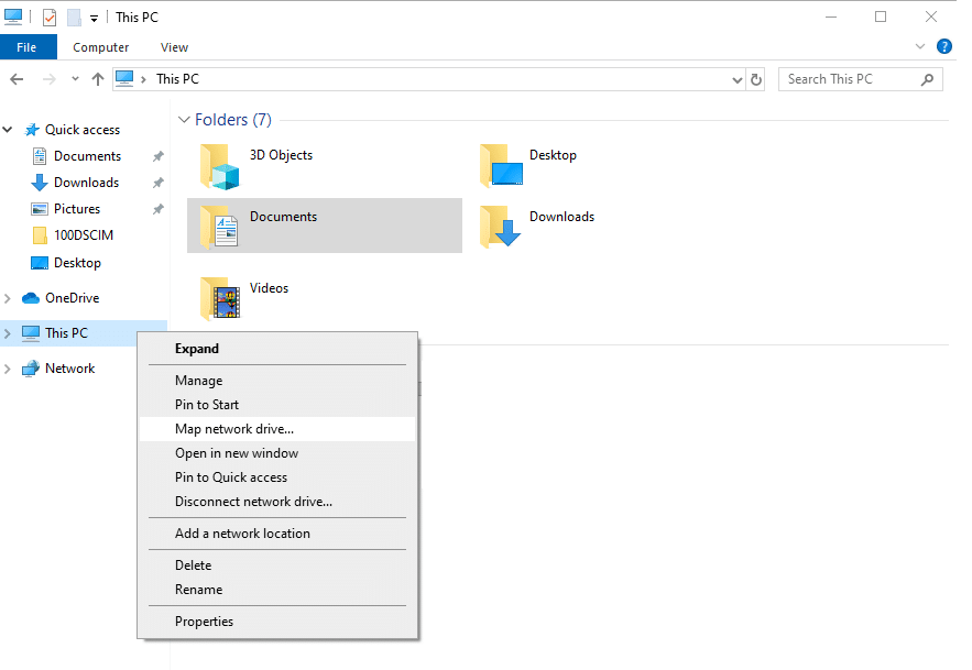 how to map network drive sharepoint online