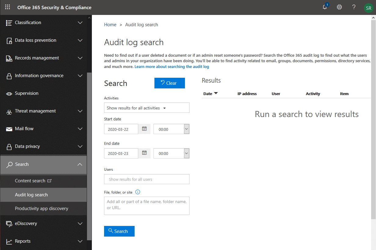how to view sharepoint online audit logs