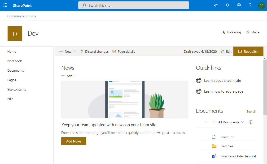 sharepoint online set search scope