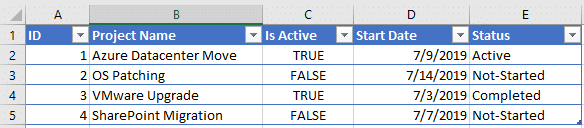 update sharepoint list from csv