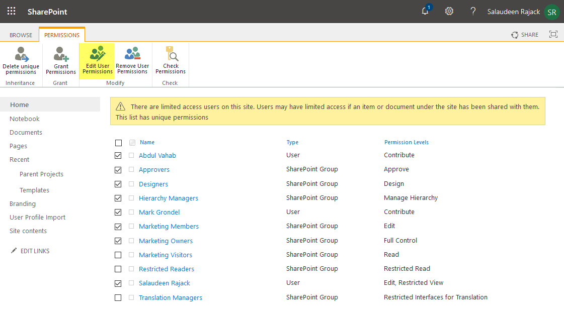 sharepoint online make list read only