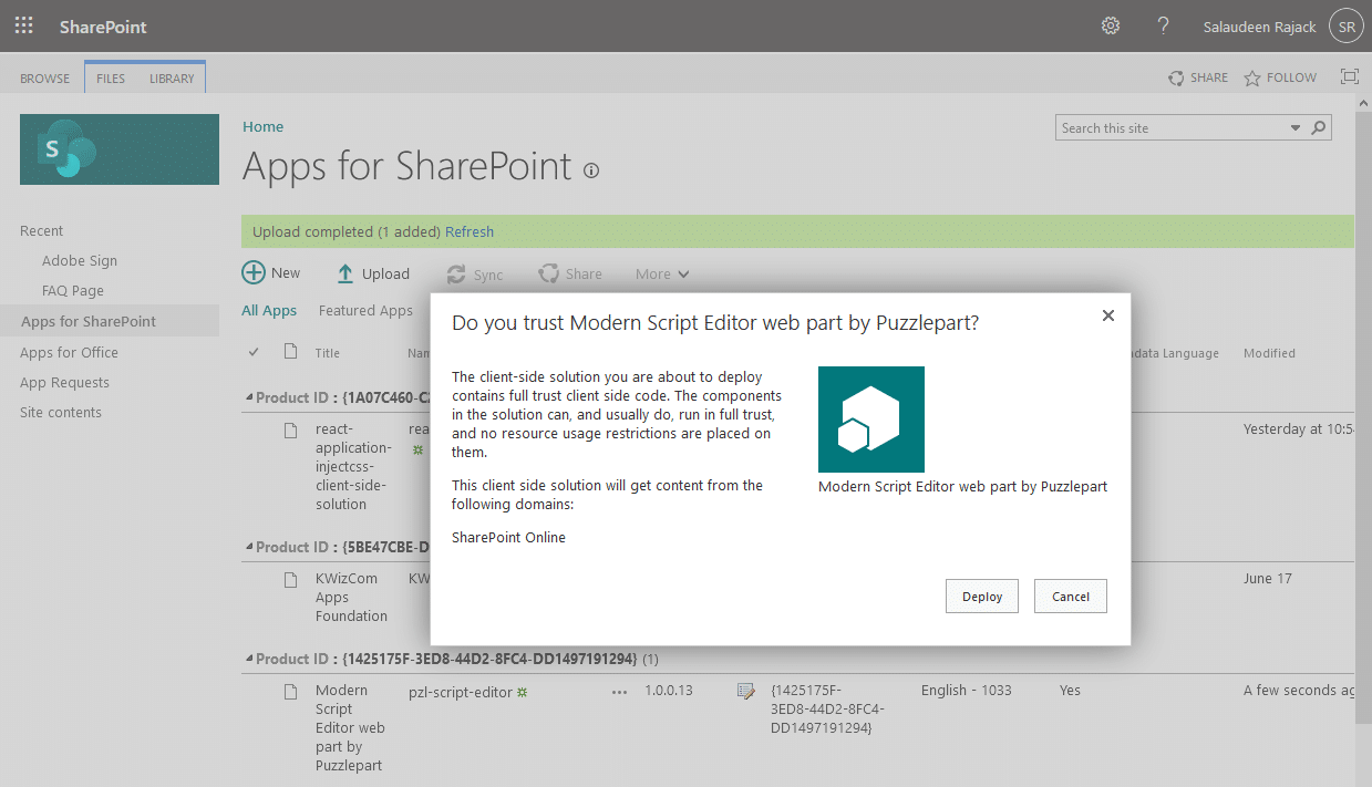 How to Add Custom CSS to SharePoint Online Modern Page?