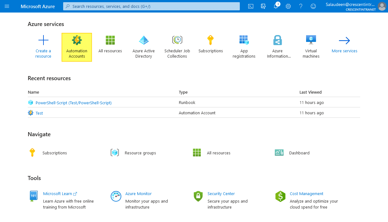 SharePoint Online: How to Schedule a PowerShell Script using Azure Automation?