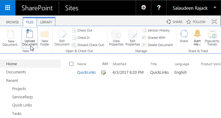 how to upload list template in sharepoint online