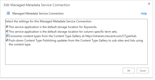 sharepoint 2013 content type hub step by step
