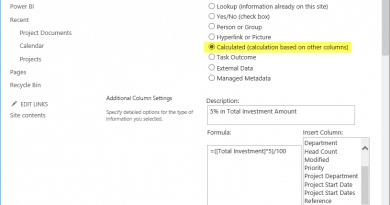 Add calculated Column to SharePoint Online List using PowerShell 390x205