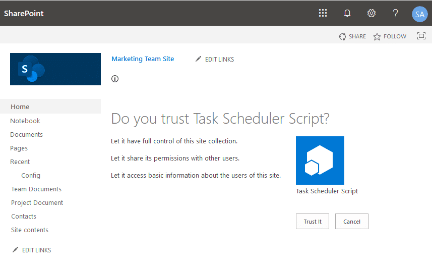 Connect to SharePoint Online using PnP PowerShell AppID and AppSecret