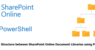 Copy Folder Structure between SharePoint Online Document Libraries using PowerShell 390x205