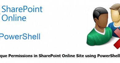 Delete Unique Permissions in SharePoint Online Site using PowerShell 390x205