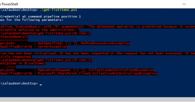 Exception calling ExecuteQuery with 0 arguments The attempted operation is prohibited because it exceeds the list view threshold enforced by the Administrator 390x205