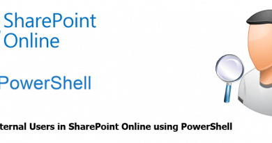 Find All External Users in SharePoint Online using PowerShell 390x205